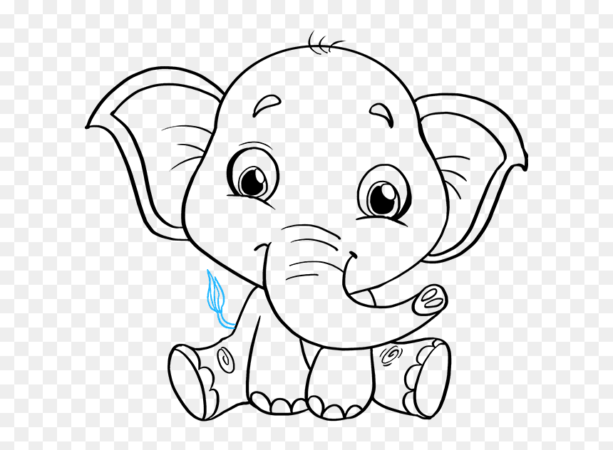 Transparent Elephant Drawing Png Baby Elephant Cartoon Black And White Png Download Vhv Watercolor painting elephant drawing, elephant transparent background png clipart. transparent elephant drawing png baby