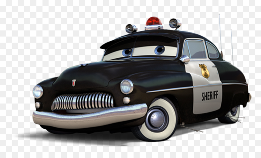 Cars Sheriff Disney Cars Characters Hd Png Download Vhv
