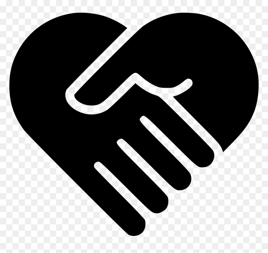 Transparent Handshake Logo Png Shake Hand Heart Png Png Download Vhv Looking for more shake hand png black and white. shake hand heart png png download