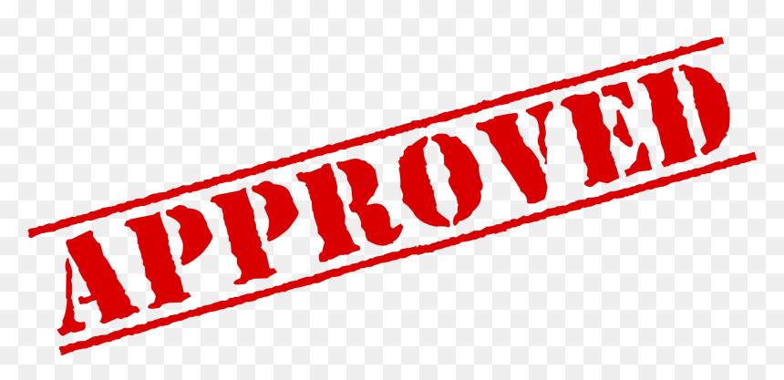 Approved Stamp Clipart Png Download Fully Funded Transparent Png Vhv