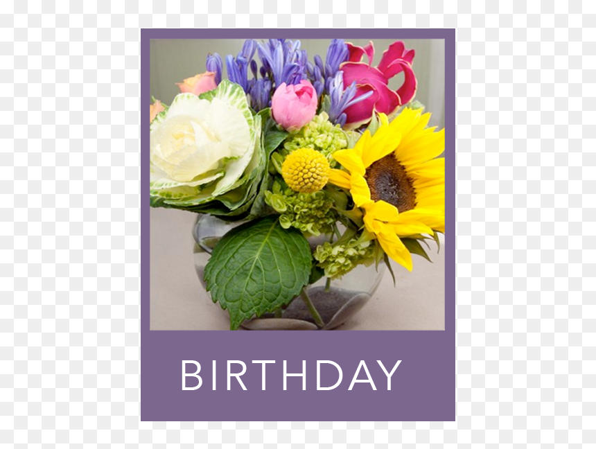 Birthday Flowers Bouquet Hd Png Download Vhv