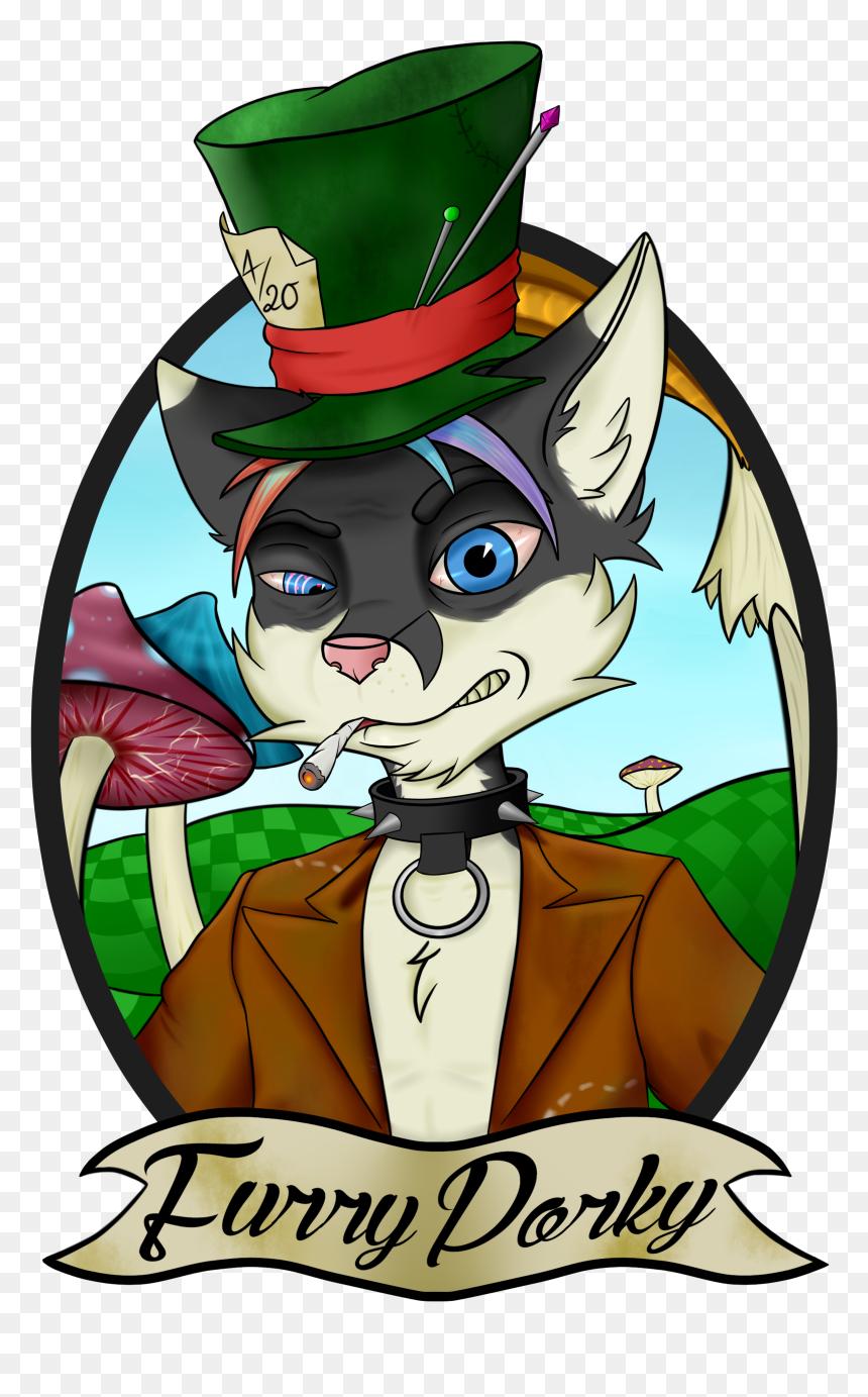 Transparent Mad Hatter Hat Png Mad Hatter Furry Png Download Vhv