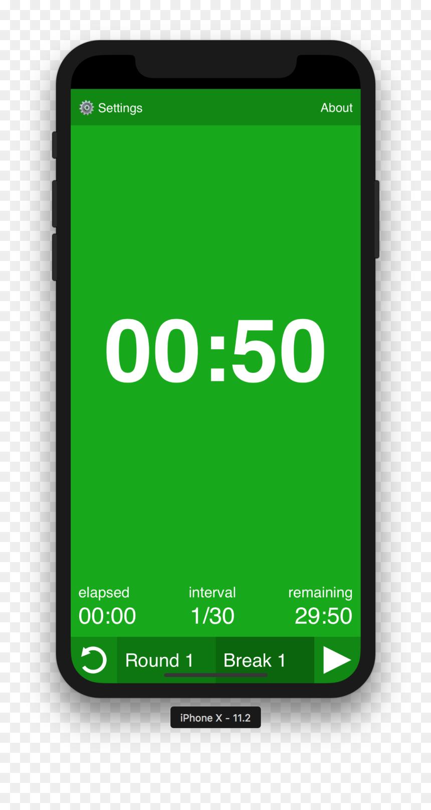 Iphone X Timer Png Transparent Png Vhv