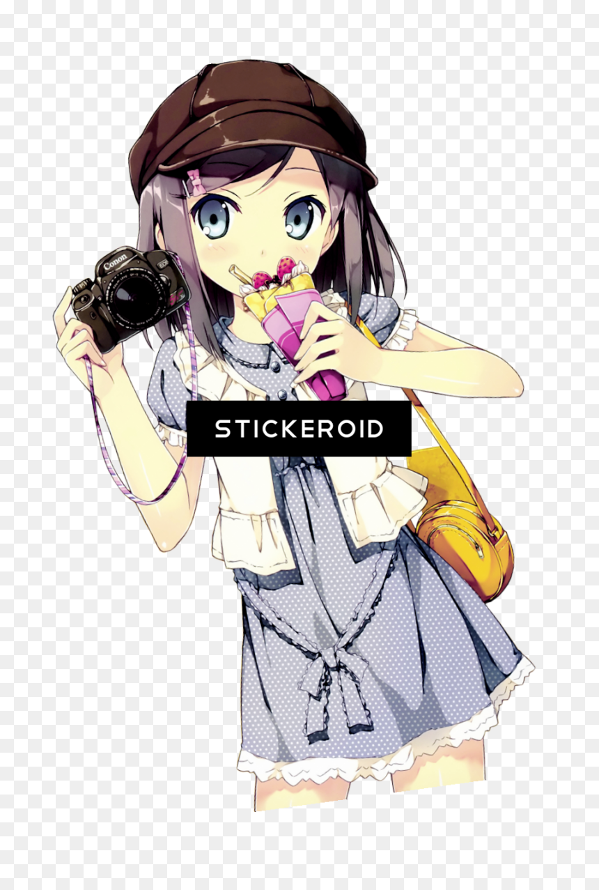 Anime Girl Png Gif Png Download Cute Anime Girl Png Transparent Png Vhv