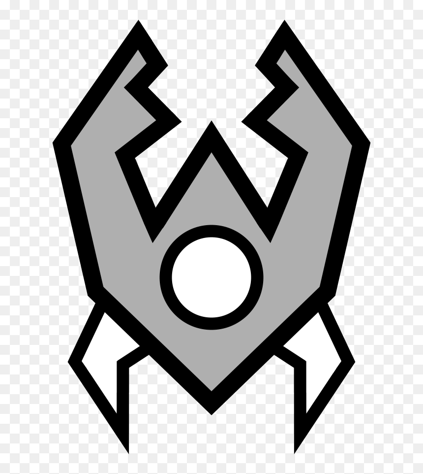 Geometry Dash Colouring Pages Png Download Geometry Dash All Wave Transparent Png Vhv
