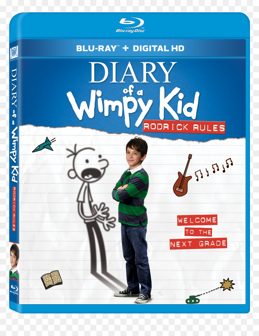 Diary Of A Wimpy Kid Rodrick Rules Movie Hd Png Download Vhv
