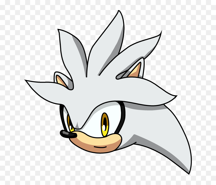 Draw Silver The Hedgehog Head Png Download Draw Silver The Hedgehog Head Transparent Png Vhv