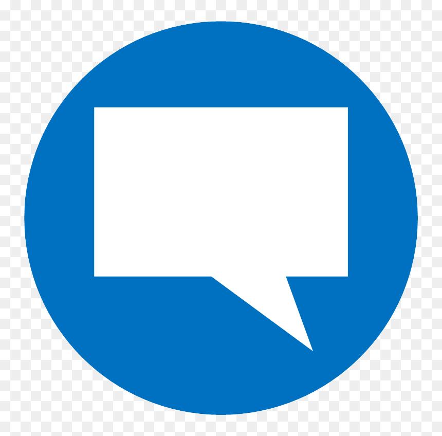 vector icon of a speech bubble facebook comment logo png transparent png vhv vector icon of a speech bubble