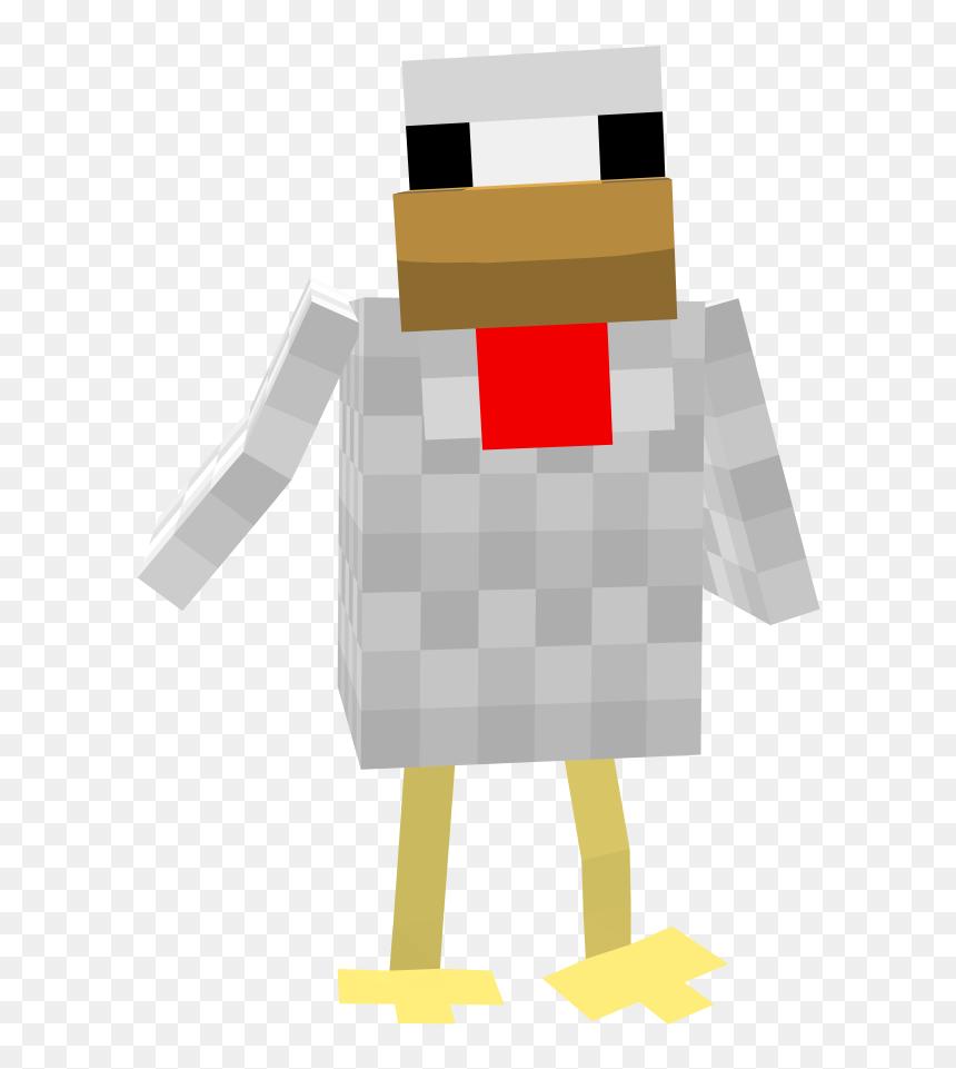 Minecraft Chicken , Png Download - Minecraft Chicken Png