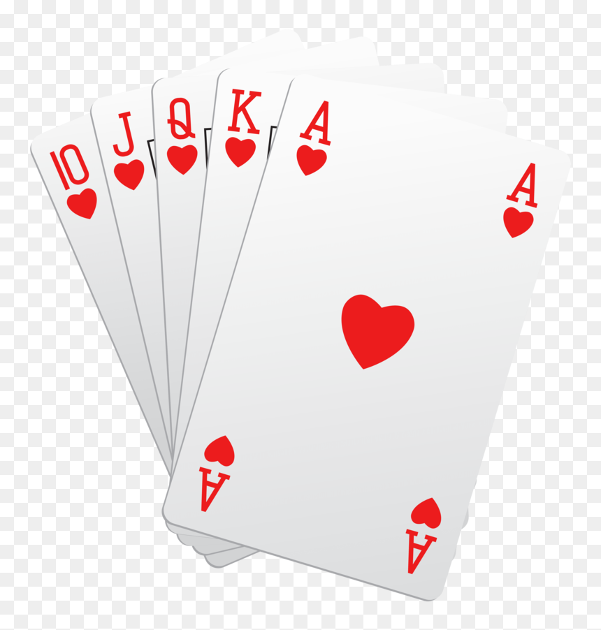 Playing Cards Poker Hd Png Download Vhv