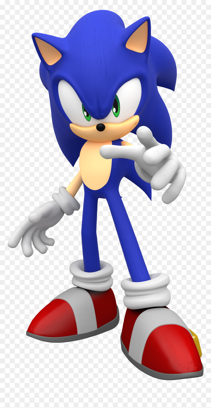Sonic The Hedgehog 2006 Pose By Mintenndo Sonic The Hedgehog Png