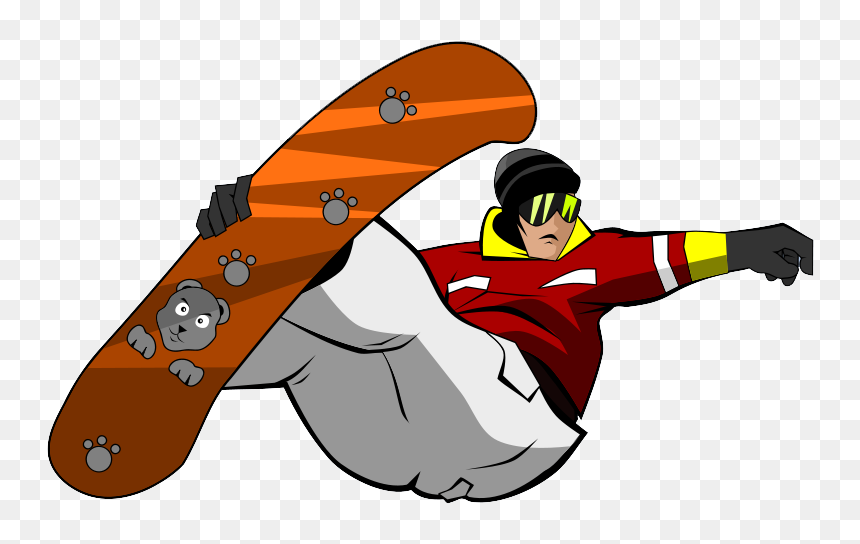 Snowboarding Jumping Png Photo Snowboarder Clipart Free Transparent Png Vhv