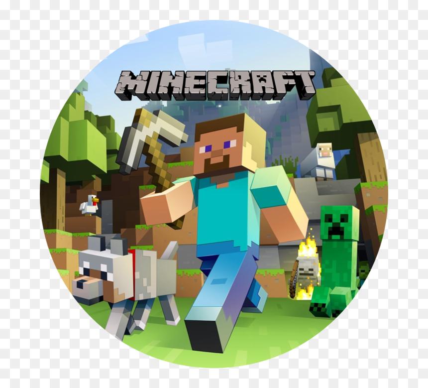 Transparent Minecraft Cake Png Majkraft Oplatek Png Download Vhv