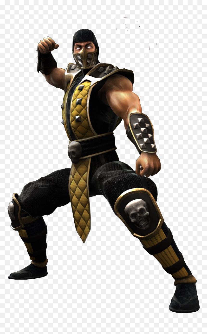 Mortal Kombat Png Scorpion Mk Shaolin Monks Transparent Png Vhv