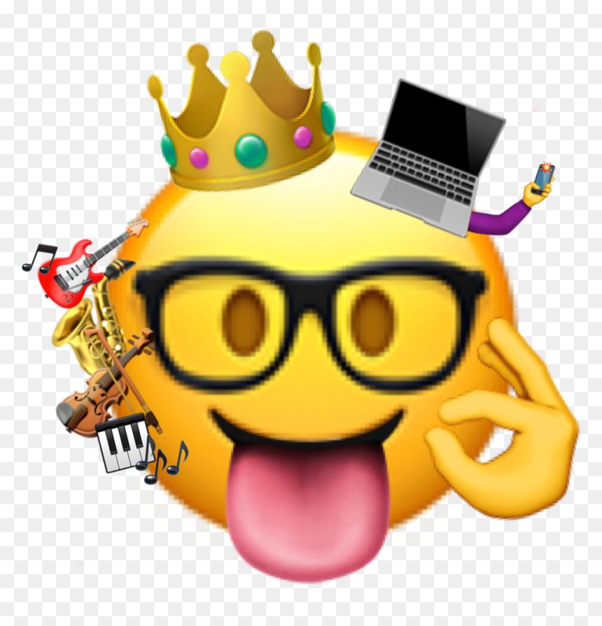 Myemoji Blondwave Madss1333 If I Had An Emoji Lol Transparent Background Nerd Emoji Png Png Download Vhv
