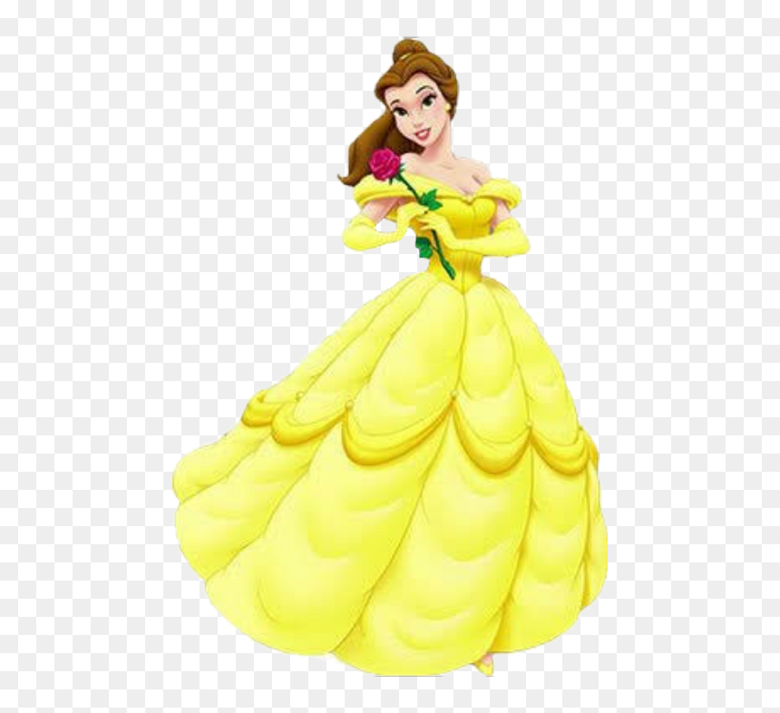 Transparent Beauty And The Beast Characters Png Belle Disney Princess Png Download Vhv