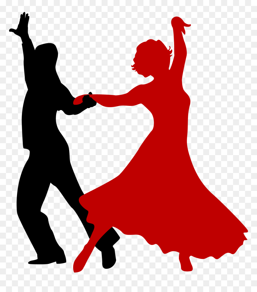 Lady Ballroom Dancing Silhouette Png Download Salsa Dance Transparent Png Vhv