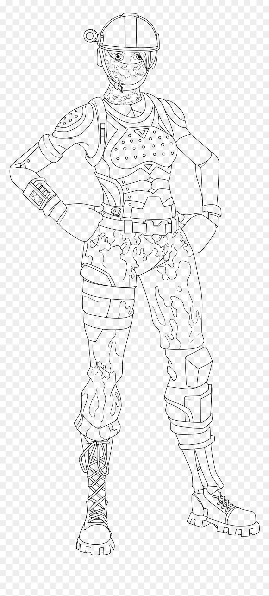 Printable Coloring Pages Fortnite_coloring_page_1 Free For Kids Adults  Girls – Dialogueeurope | 1903x860