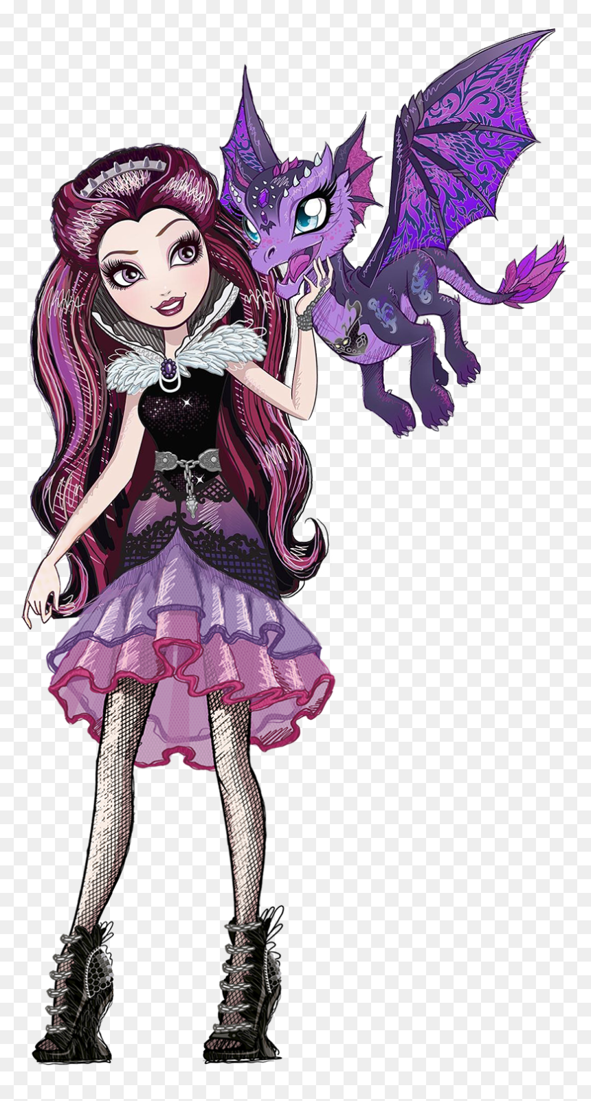 Ever After High Characters Raven Queen Hd Png Download Vhv