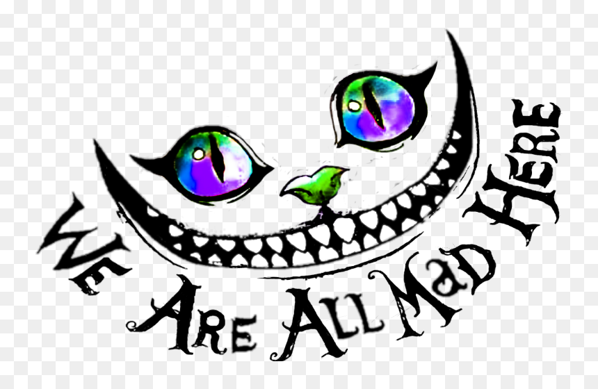 Alice In Wonderland Cheshire Cat Drawing Clipart Cheshire Cat Alice In Wonderland Drawing Hd Png Download Vhv