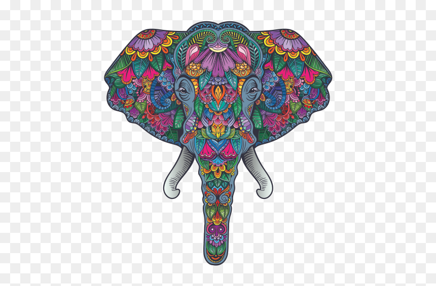 Colorful Pattern Elephant Head Feng Shui Good Luck Good Luck Elephant Head Hd Png Download Vhv Pin the clipart you like. colorful pattern elephant head feng