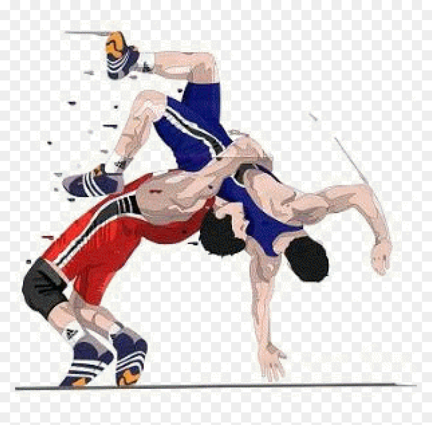 Wrestling Png Clipart Freestyle Wrestling Clip Art Wrestling Clipart Transparent Png Vhv