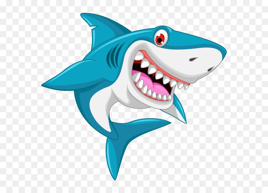 Shark Drawing Cartoon Clip Art Shark Invitation Template Free Hd Png Download Vhv