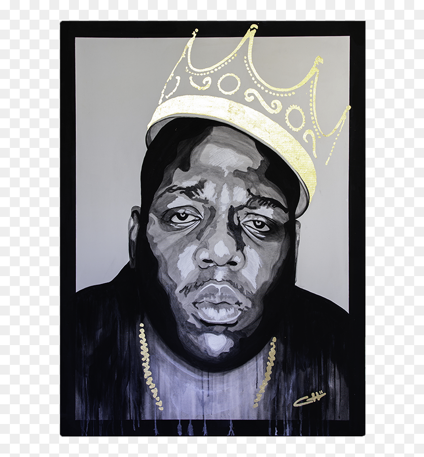 Biggie Smalls Painting By Casey Lynn Hancock Biggie Smalls Crown Painting Hd Png Download Vhv You can also upload and share your favorite guilty crown wallpapers. biggie smalls crown painting hd png