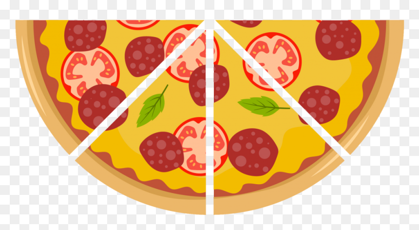 Fraction clipart pizza slice, Fraction pizza slice Transparent FREE for  download on WebStockReview 2020