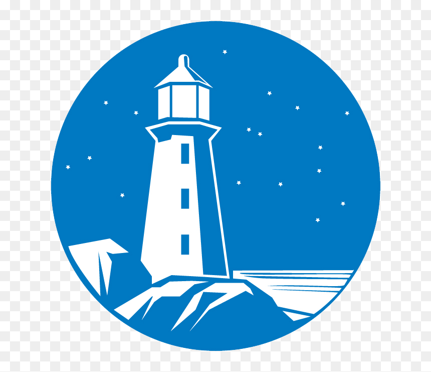 Blue Light House Clipart Svg Royalty Free Library Life Blue White Lighthouse Logo Hd Png Download Vhv
