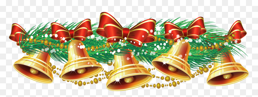 Christmas bells clipart. Free download transparent .PNG | Creazilla