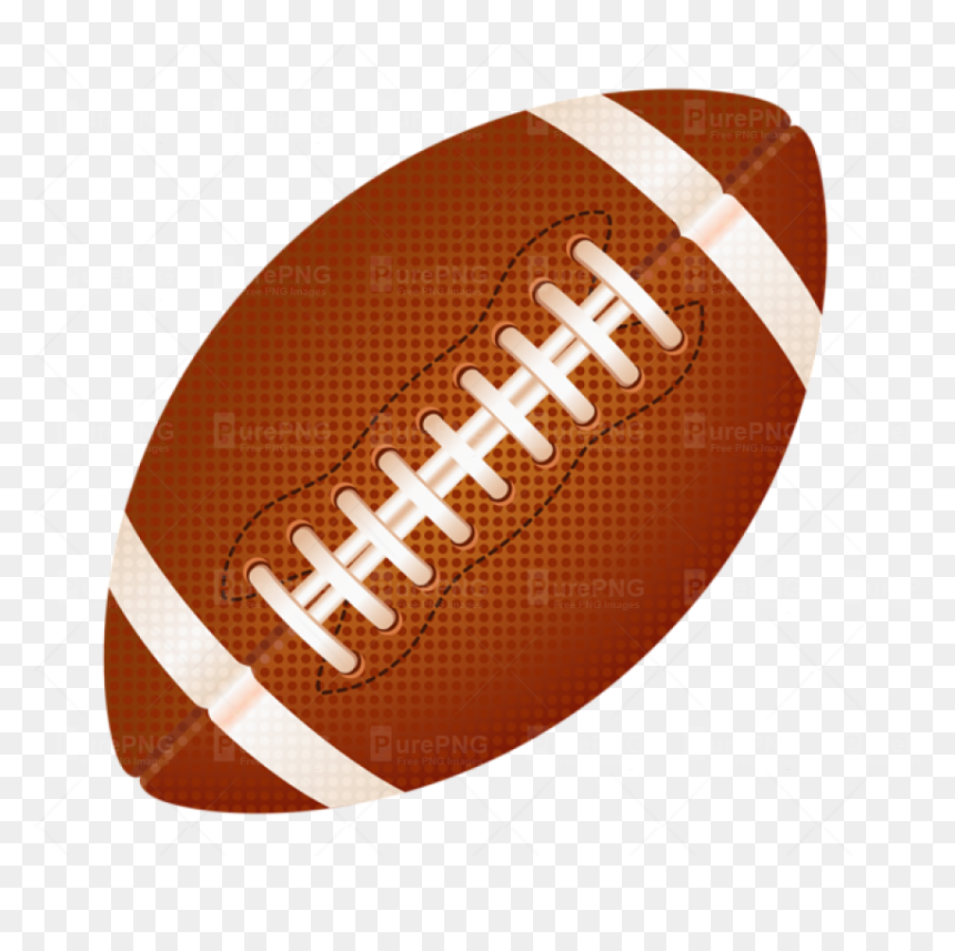 Rugby Ball Clipart Fotball Clipart American Football Ball Hd Png Download Vhv