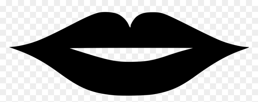 Lips Svg Png Icon Free Download Human Lips Black And White Transparent Png Vhv