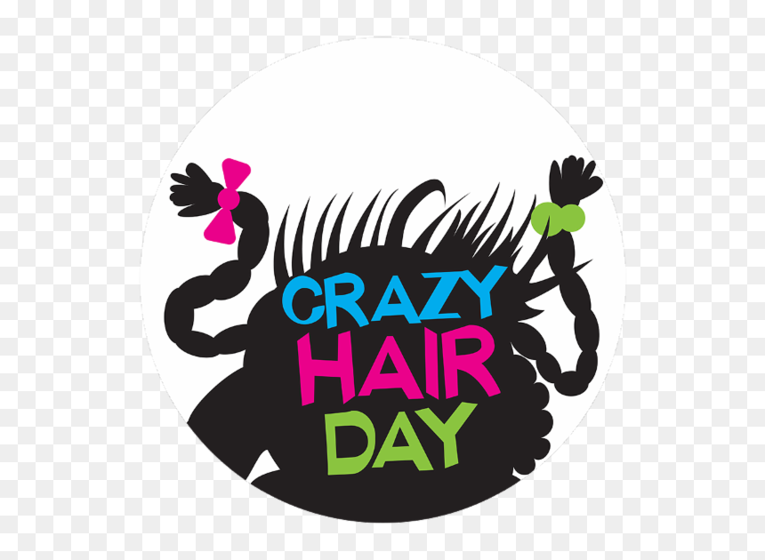 Crazy Hair Day Png Picture Kids Crazy Hair Day Cartoon Transparent Png Vhv