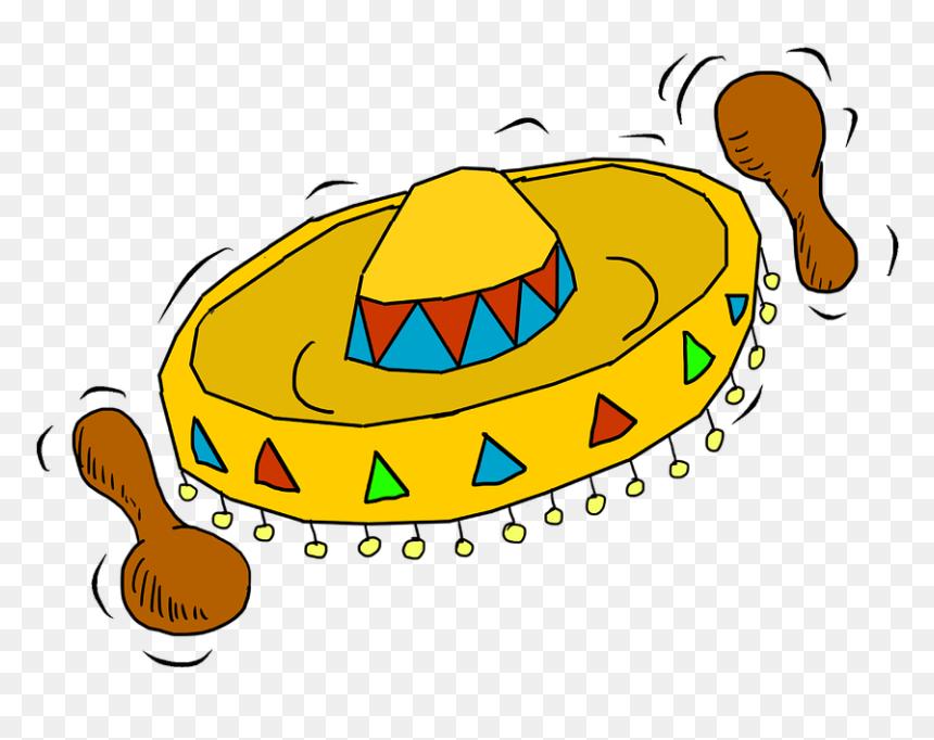 Cartoon Mexican Hat Png Transparent Png Vhv