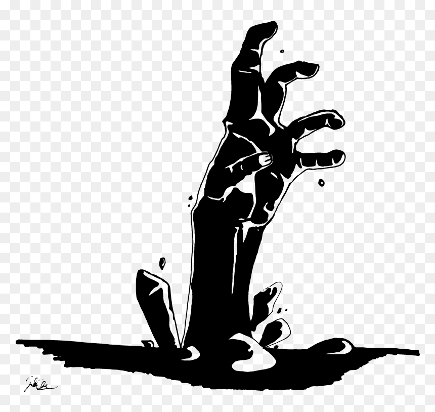 Zombie Hand Clipart Black And White Hd Png Download Vhv White stars shining free clipart hd format: zombie hand clipart black and white hd