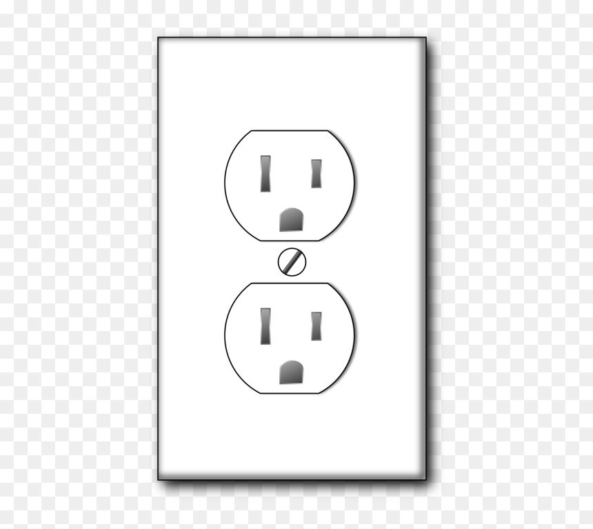 Electrical Plug Cartoon Hd Png Download Vhv