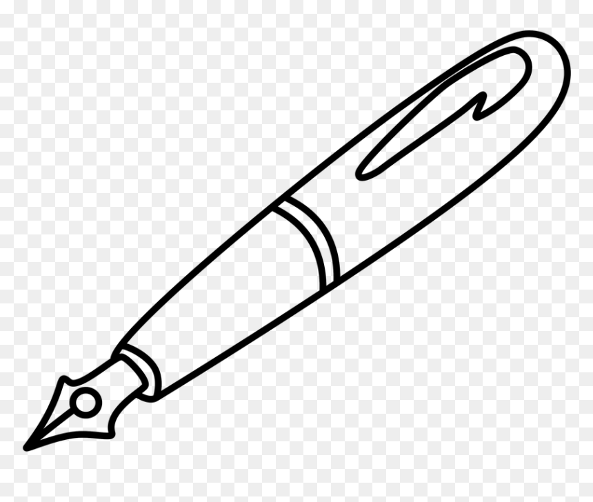 pen clipart black and white hd png download vhv pen clipart black and white hd png
