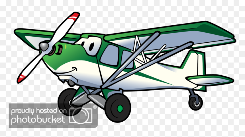 Clip Art Cartoon Airplane With Transparent Background Cartoon