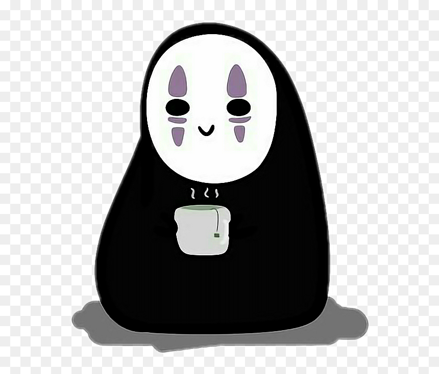 Transparent Spirited Away Png Spirited Away No Face Cute Png Download Vhv