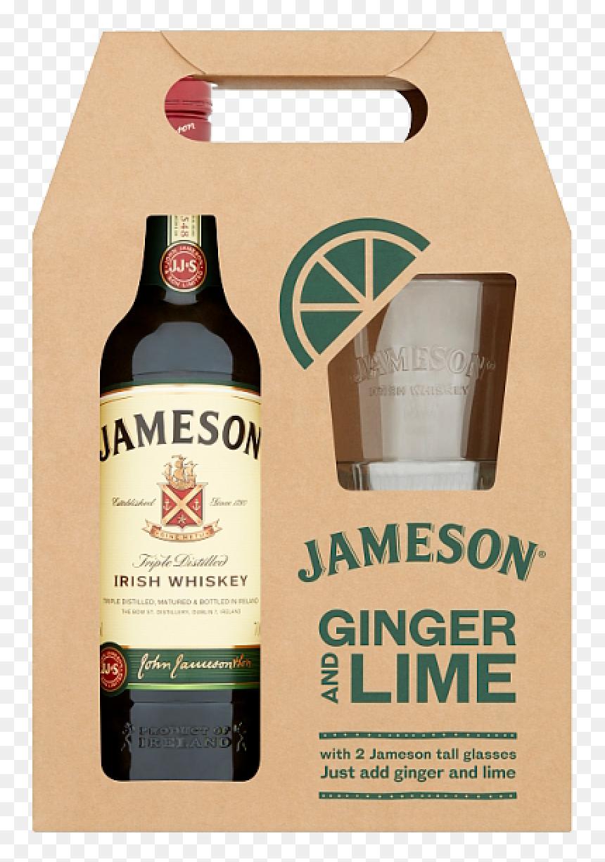 Jameson 70cl 2 Glass Gift Set - Alcohol