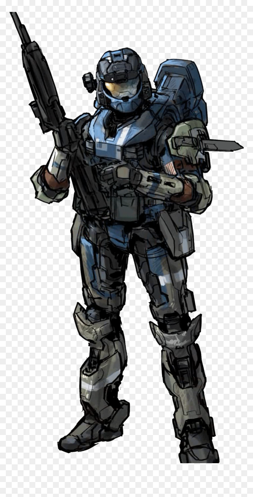 Halo Reach Noble Team Concept Art Hd Png Download Vhv