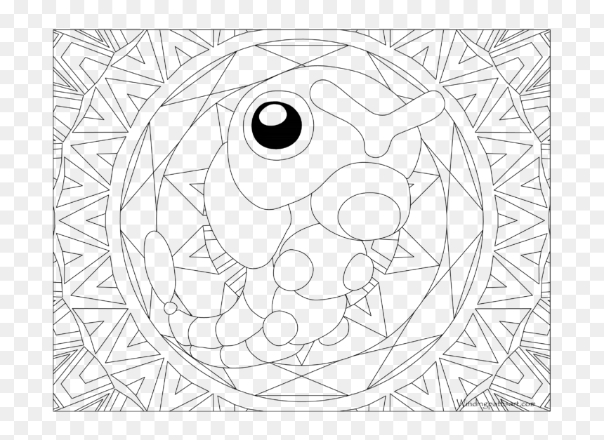SudoWoodo - Coloring pages for kids | 627x860