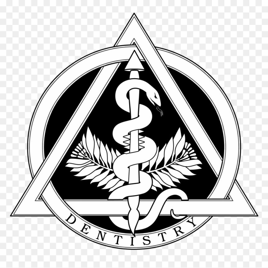 Disturbed Drawing Emblem - Dentistry Symbol, HD Png ...