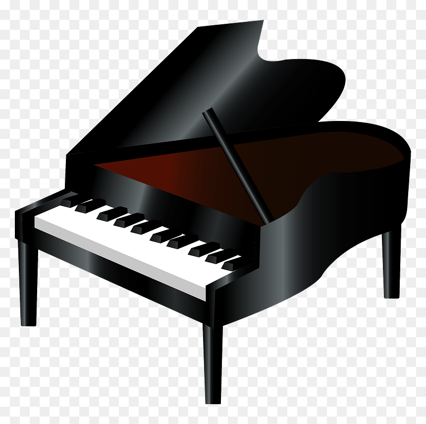 Grand Piano Musical Instrument Clipart Piano Hd Png Download Vhv