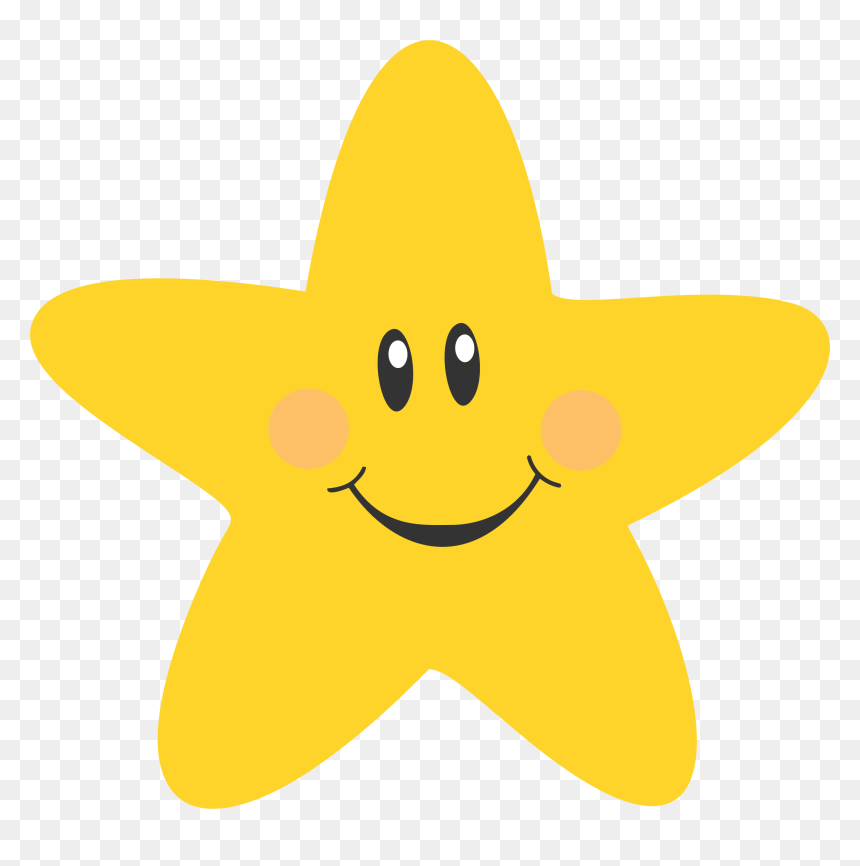 Star Cute Clipart Clipart Royalty Free Clipart Cartoon Hd Png Download Vhv