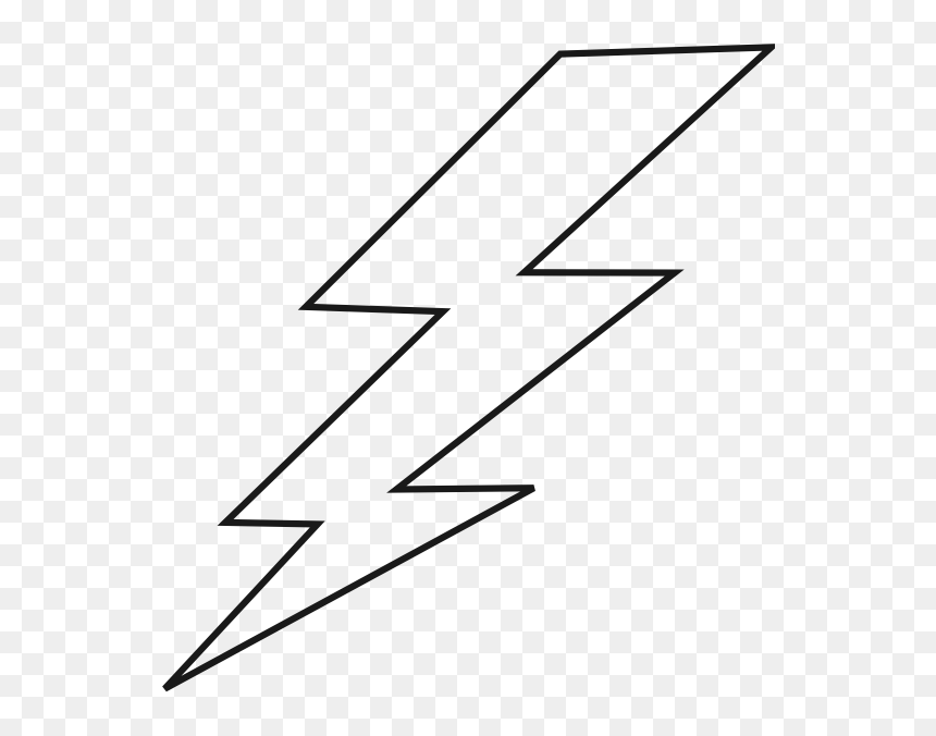 Lightning Black Bolt Clip Art White Lightning Bolt Png Transparent Png Vhv