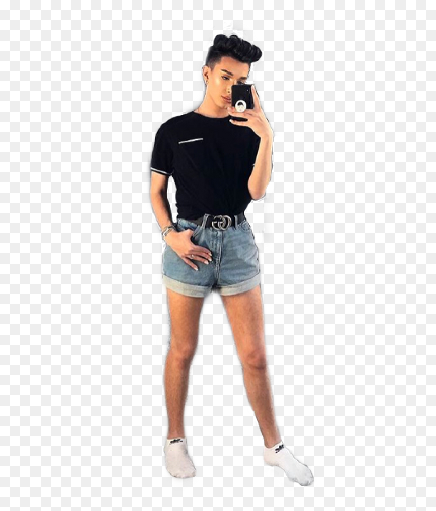 Jamescharles Png Dlpng Com James Charles Full Body Transparent Png Vhv