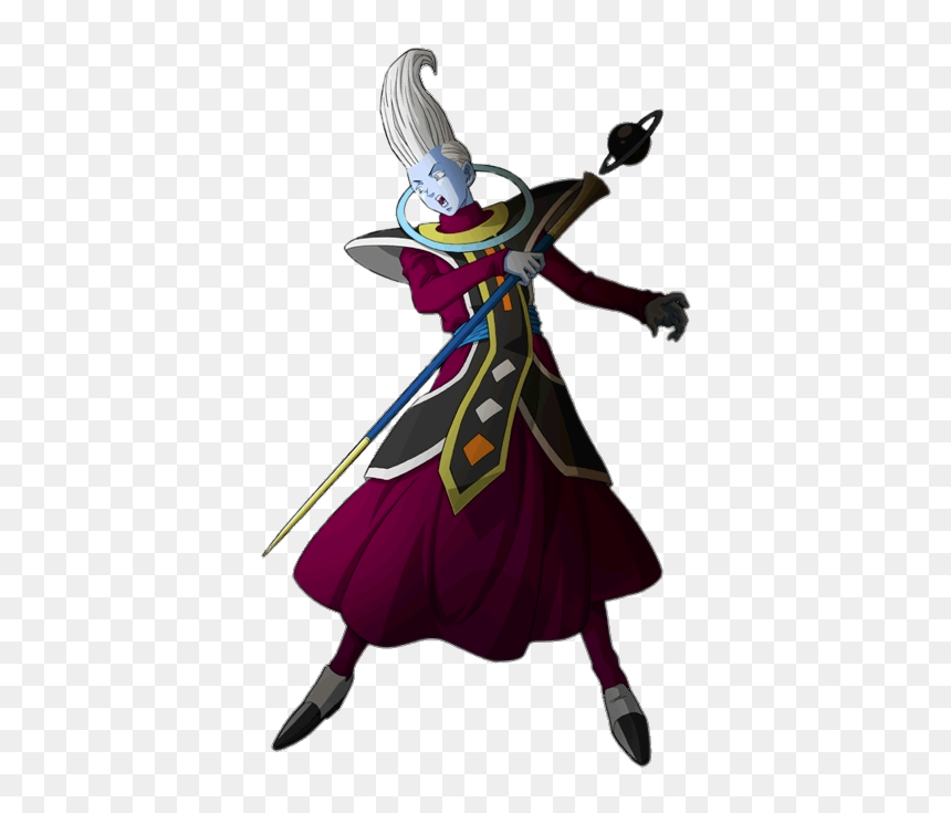 Dragon Ball Character Whis Attacking Wiss Dragon Ball Png Transparent Png Vhv