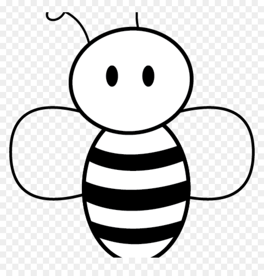 Honey Bee Pictures Clip Art Free Bee Clipart Free Clipart Cartoon Bees Drawing Easy Hd Png Download Vhv